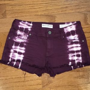 Bullhead Deep Purple Shorts Sz 5